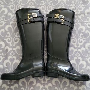 Däv Sussex Rubber Boots Black Size 7